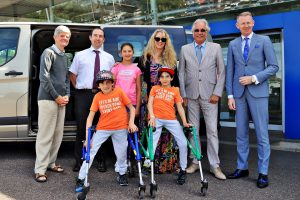 CORK CIVIC TRUST ORGANISES DONATION OF SPECIALLY ADAPTED VAN FOR THE BENHAFFAF TWINS