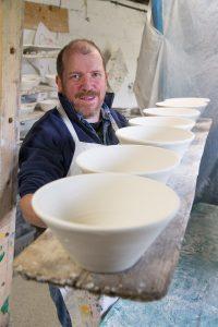 Entrepreneurs of Little Island: Charlie Mahon, Charlie Mahon Ceramics – 'Charlie Mahon is back and making again!'