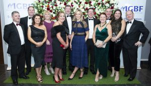 Members of the grocery trade attending the 42nd Irish Grocers Benevolent Fund Ball in the Radisson Blue Hotel, Little Island