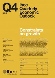 Future growth slows on capacity constraints – Ibec